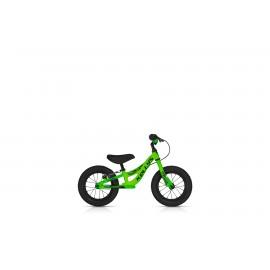 Dětské odrážedlo KELLYS KITE 12 RACE NEON GREEN s brzdou