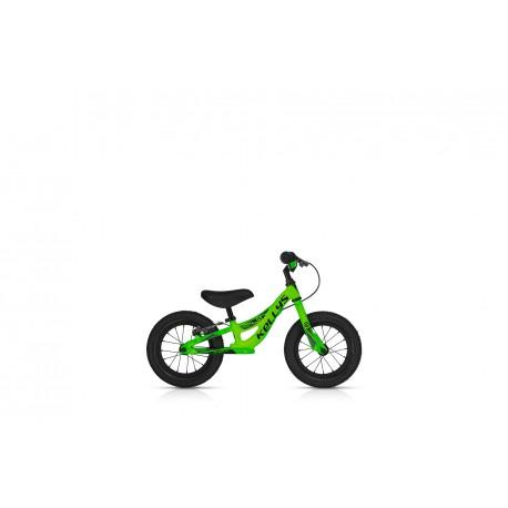 Dětské odrážedlo KELLYS KITE 12 RACE NEON GREEN s brzdou KELLYS Sleva 10%