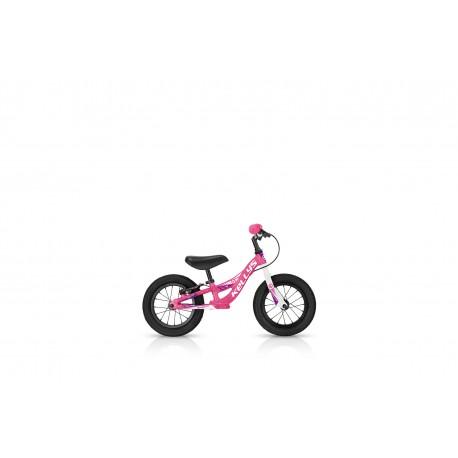 Dětské odrážedlo KELLYS KITE 12 RACE PINK s brzdou KELLYS