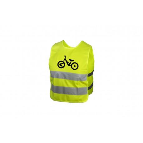 Dětská reflexní vesta KELLYS STARLIGHT bike - XS KELLYS