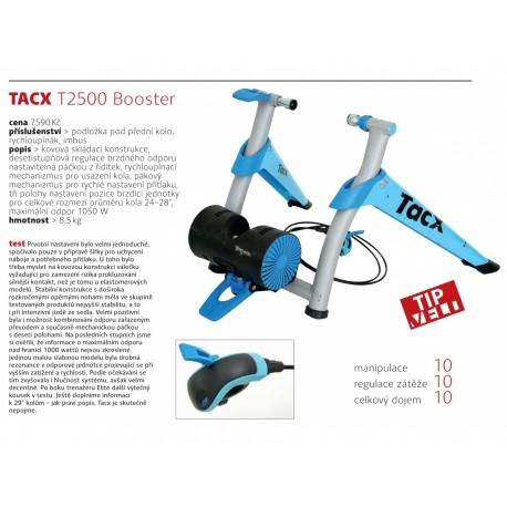 TACX Cyklotrenažér T2500 Booster, barva modrá TACX Sleva 1400Kč