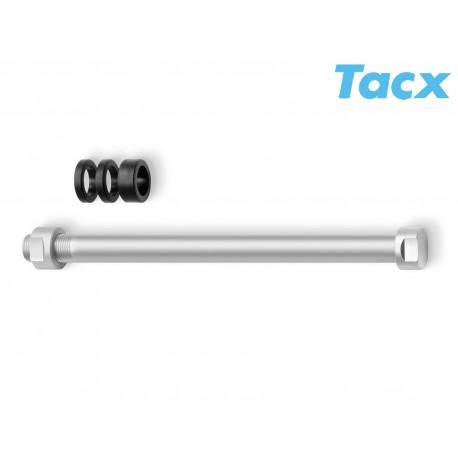 TACX Pevná osa M10x1 T1706, barva stříbrná TACX