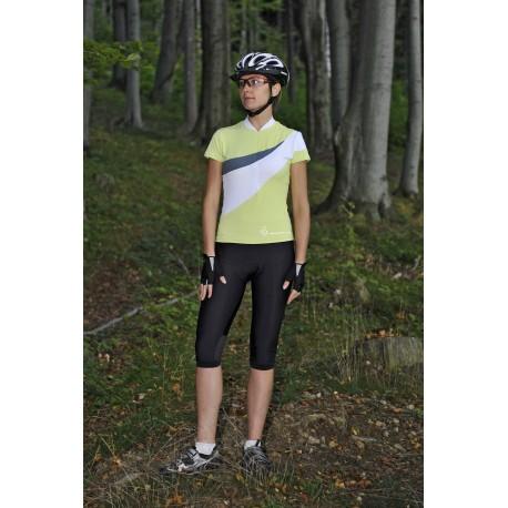 AUTHOR Dres Lady Stretch k/r, Velikost XL, barva zelená/bílá AUTHOR Sleva 851Kč