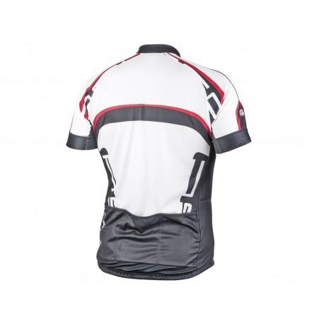 AUTHOR Dres Men Sport X4 k/r, Velikost M, barva 15A bílá/černá/červená AUTHOR
