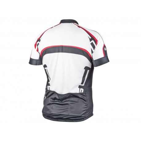 AUTHOR Dres Men Sport X4 k/r, Velikost L, barva 15A bílá/černá/červená AUTHOR