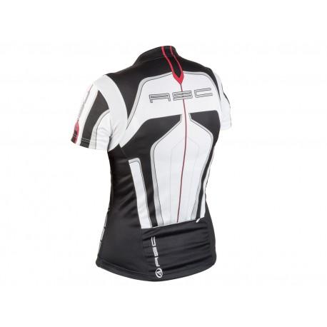 AUTHOR Dres Lady Sport k/r, Velikost S, barva 12B bílá/černá/červená AUTHOR 8590816023390 Sleva 555Kč