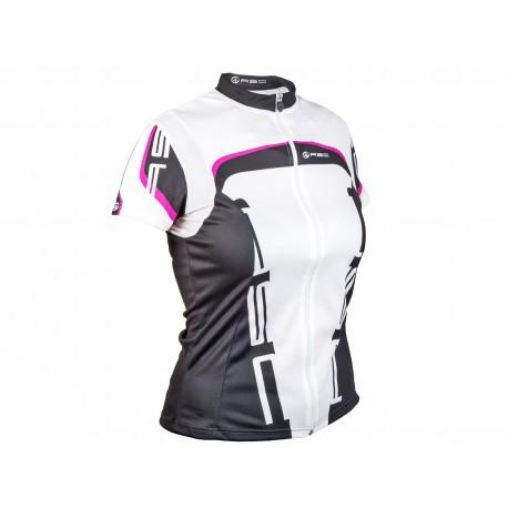 AUTHOR Dres Lady Sport, Velikost S, barva 18A bílá/černá/zelená AUTHOR 8590816060838