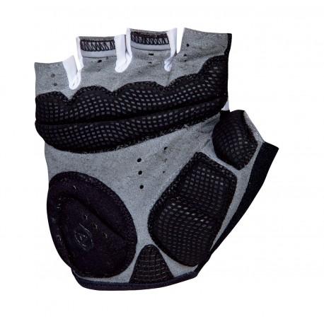 AUTHOR Rukavice Lady Comfort Gel k/p, Velikost M, barva bílá/černá AUTHOR 8590816019478