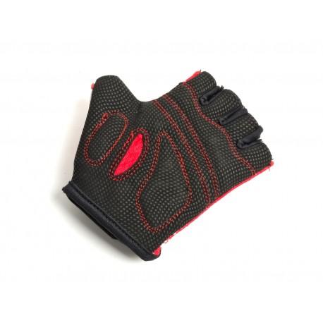 AUTHOR Rukavice Junior X6, Velikost S, barva červená/bílá AUTHOR