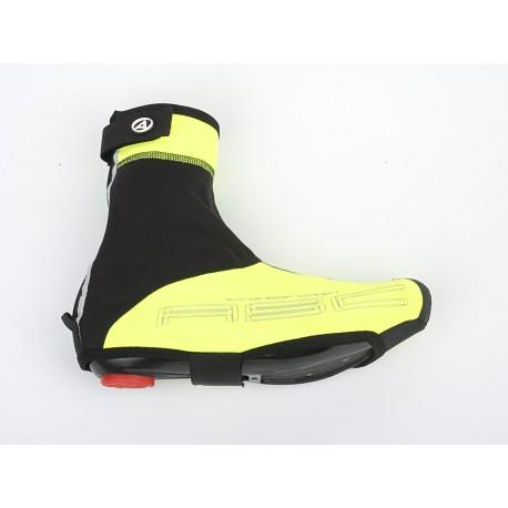 AUTHOR Návleky boty WinterProof, Velikost M 40-42, barva žlutá-neonová/černá AUTHOR 8590816027152