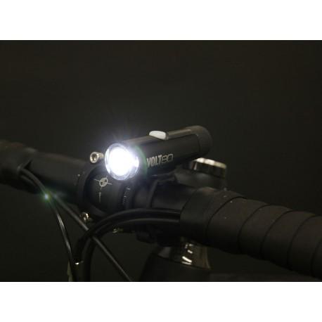 CATEYE Světlo př. CAT HL-EL050RC Volt80, barva černá CATEYE 4990173029464