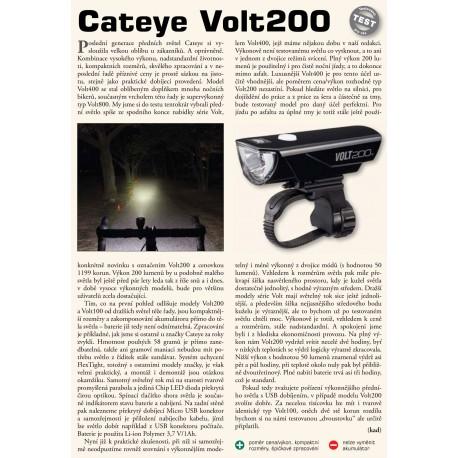 CATEYE Světlo př. CAT HL-EL151RC Volt200, barva černá CATEYE 4990173028702