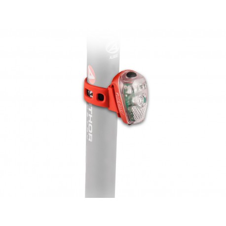 AUTHOR Světlo zad. A-Star USB, barva červená/čiré-sklo AUTHOR 8590816022423 Sleva 100Kč