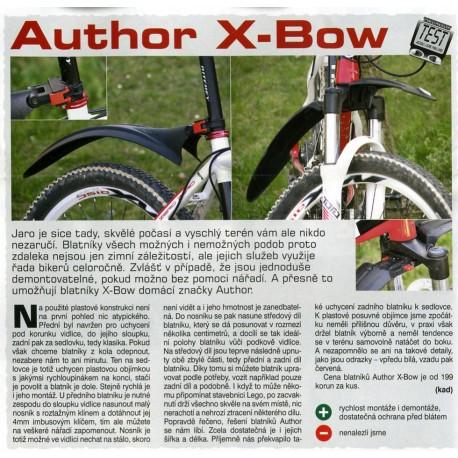 """AUTHOR Blatník př. X-Bow , Velikost 26""""-29"""", barva černá AUTHOR 8590816014008"""