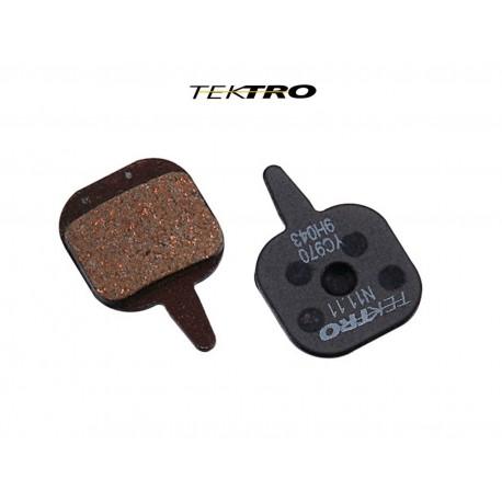 TEKTRO Brzdové destičky TK-N11.11 - IO (2ks), barva černá TEKTRO