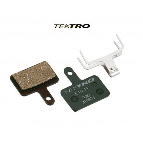 TEKTRO Brzdové destičky TK-E10.11 - AQUILA (2ks), barva zelená TEKTRO