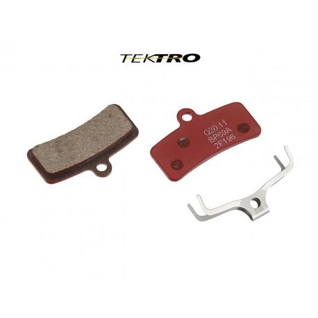 TEKTRO Brzdové destičky TK-Q20.11 - Quadiem (2ks), barva červená TEKTRO