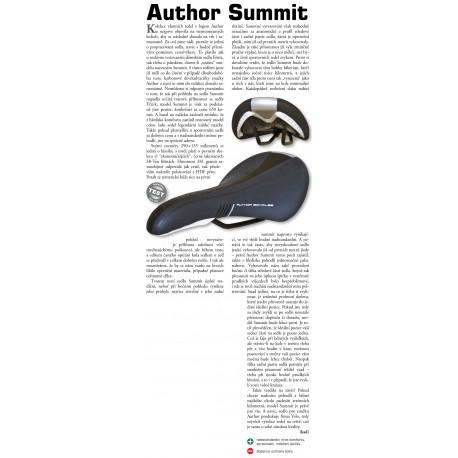 AUTHOR Sedlo ASD - Summit, barva černá AUTHOR Sleva 151Kč