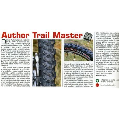 AUTHOR Plášť AT - Trail Master, Velikost 26x2,00, barva černá AUTHOR