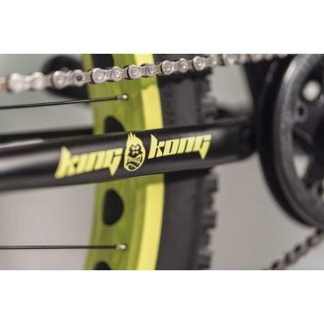 "AUTHOR King Kong 24 2016, Velikost 12,5"", barva černá-matná/žlutá AUTHOR Sleva 3400Kč"