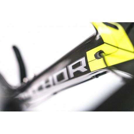 "AUTHOR Magnum 29 2017, Velikost 19"", barva karbon/žlutá-neon AUTHOR Sleva 33000Kč"
