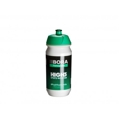 TACX Láhev TACX Pro Teams - Bora - Hansgrohe, Velikost 0,5l, barva bílá/zelená TACX