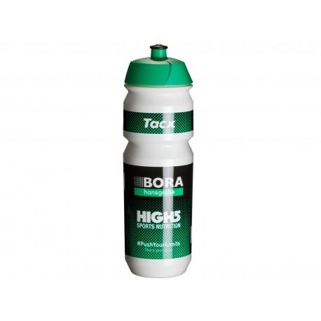 TACX Láhev TACX Pro Teams - Bora - Hansgrohe, Velikost 0,75l, barva bílá/zelená TACX