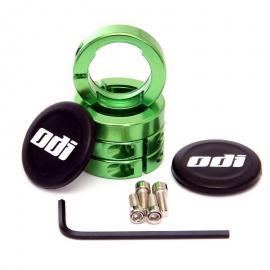 Objímky ke gripům ODI MTB Lock-On Al zelené