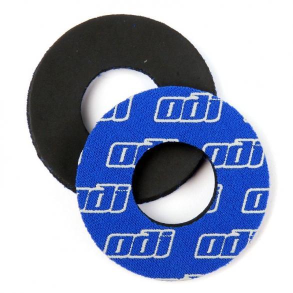 Kroužky ke gripům ODI MTB neopren modré