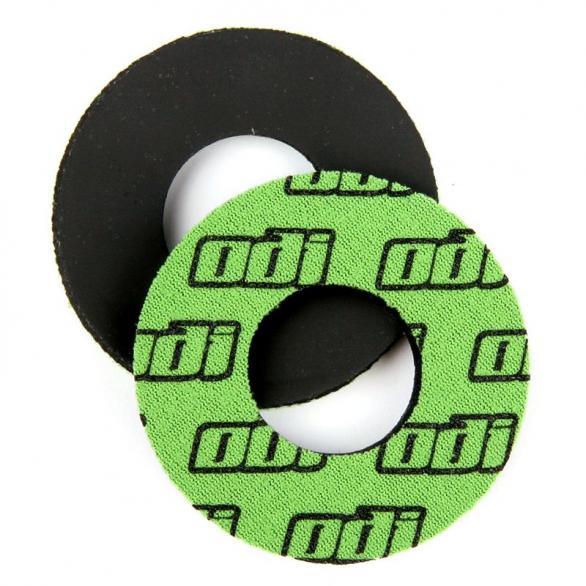 Kroužky ke gripům ODI MTB neopren zelené
