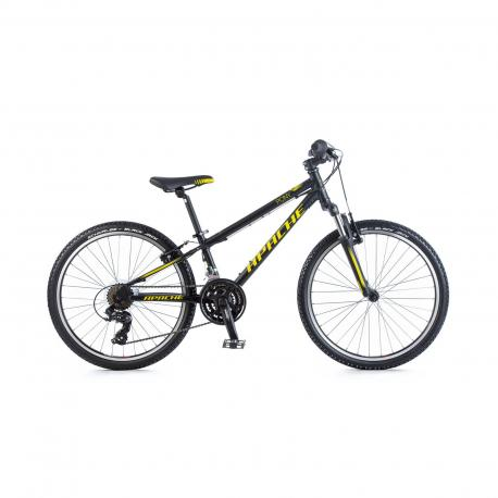 """Kolo dětské Apache 24"""" Pony černá 2018 Apache Bicycles 8592842073233"""