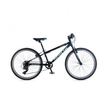 """Kolo dětské Apache 24"""" Buffalo Cross černá 2018 Apache Bicycles 8592842073264"""