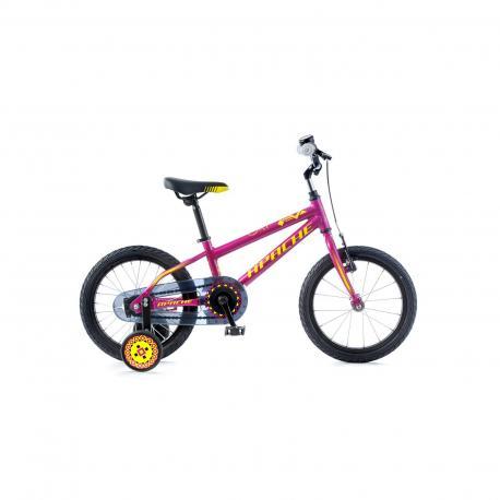 """Kolo dětské Apache 16"""" Cat růžová 2018 Apache Bicycles 8592842073318"""