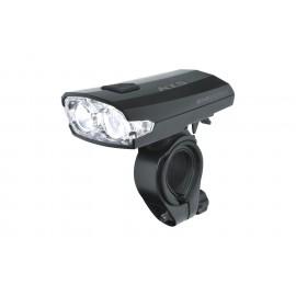 Osvětlení přední dobíjecí KLS INDEX 016 F, black