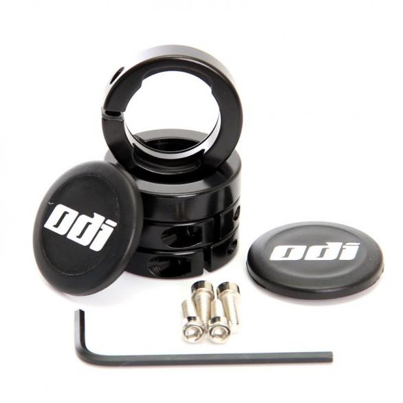 Objímky ke gripům ODI MTB Lock-On Al černé