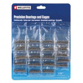 Kuličky 3,2 mm pro vícekolečka Weldtite 20x72 ks