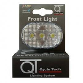 Světlo blikací přední QT Cycle Tech 3-diody