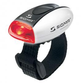 Světlo blikací zadní Sigma Micro R stříbrné