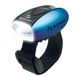 Světlo blikací přední Sigma Micro W modré
