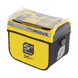 Brašna na řidítka Arsenal 310 vodotěsná žlutá