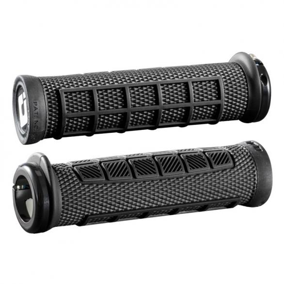 Gripy MTB ODI Elite Pro Lock-On černé