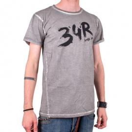 Tričko 34R Brush šedé