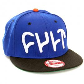 Kšiltovka CULT Logo Snap Back NewEra blue