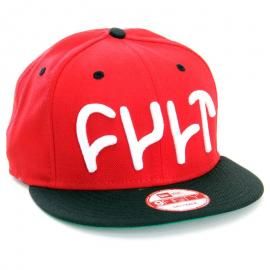 Kšiltovka CULT Logo Snap Back NewEra red