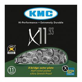 Řetěz 11 sp. KMC X11-93 Silver
