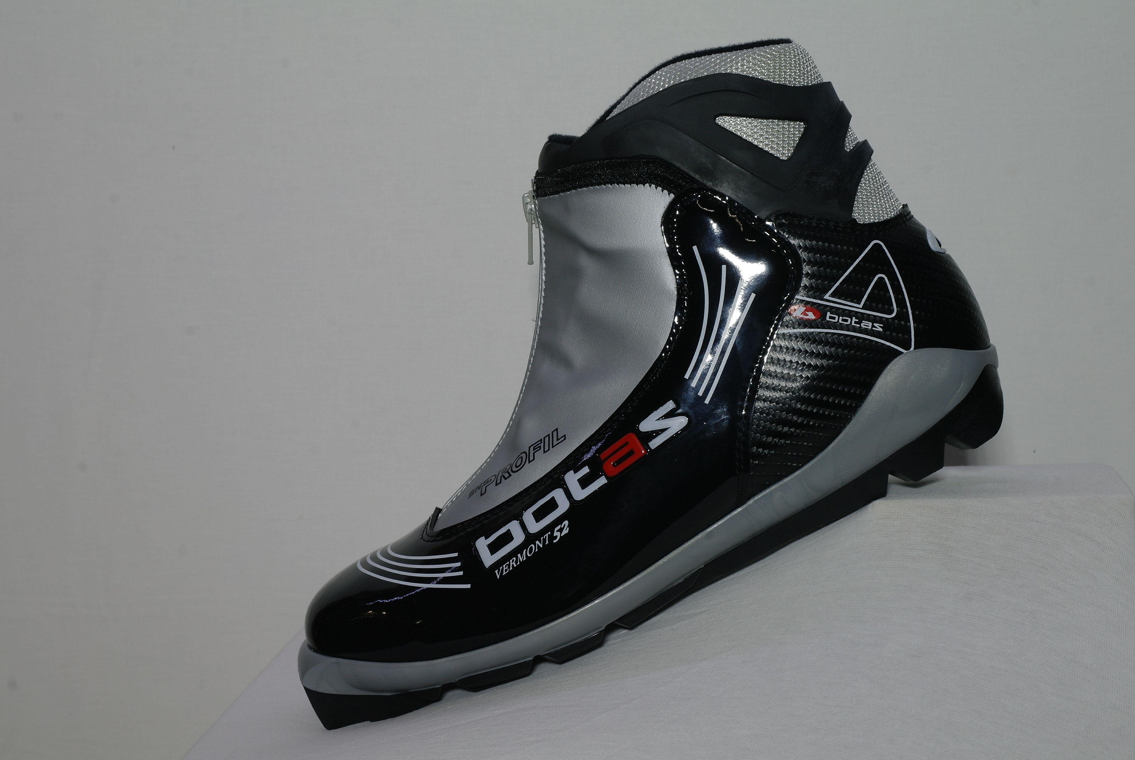Běžkařské boty BOTAS VERMONT 52 černo-stříbrná SNS vel. 45