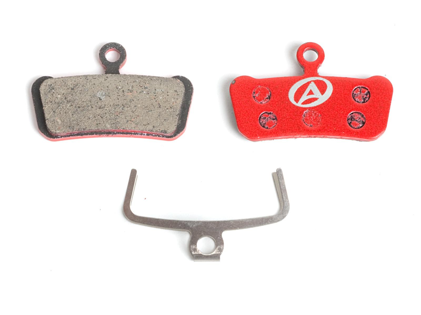 AUTHOR Brzdové destičky ABS-67S Avid Guide červená
