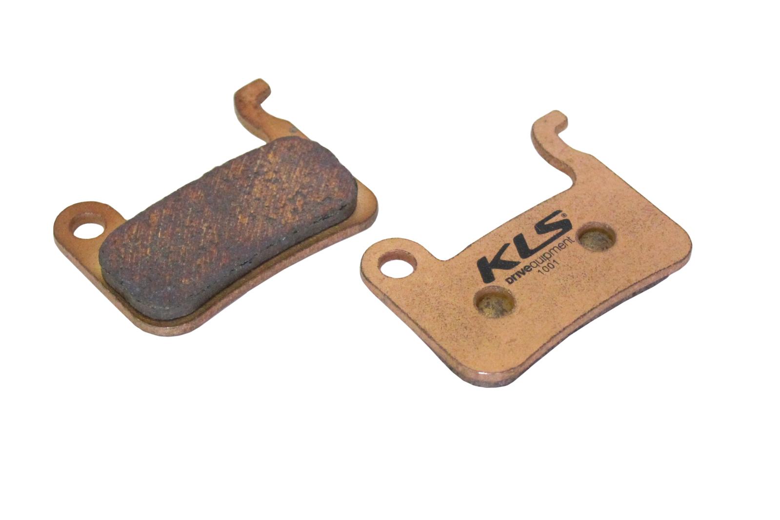 Brzdové destičky KLS D-03S, sintrované (pár)
