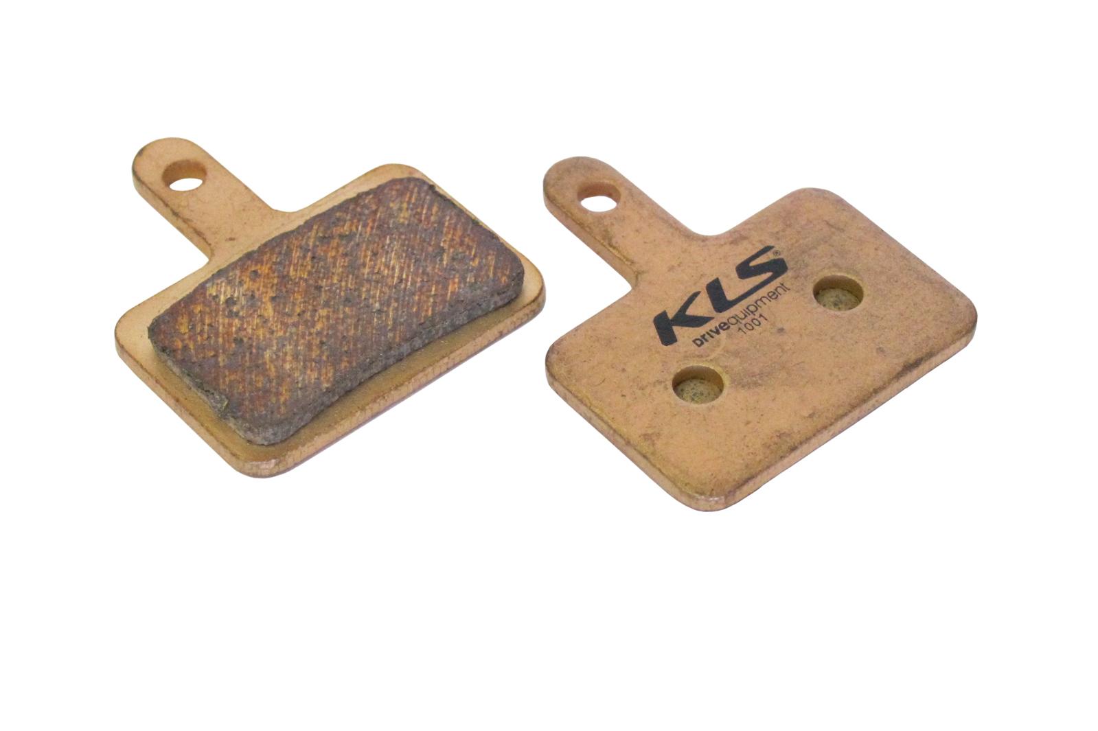 Brzdové destičky KLS D-04S, sintrované (pár)