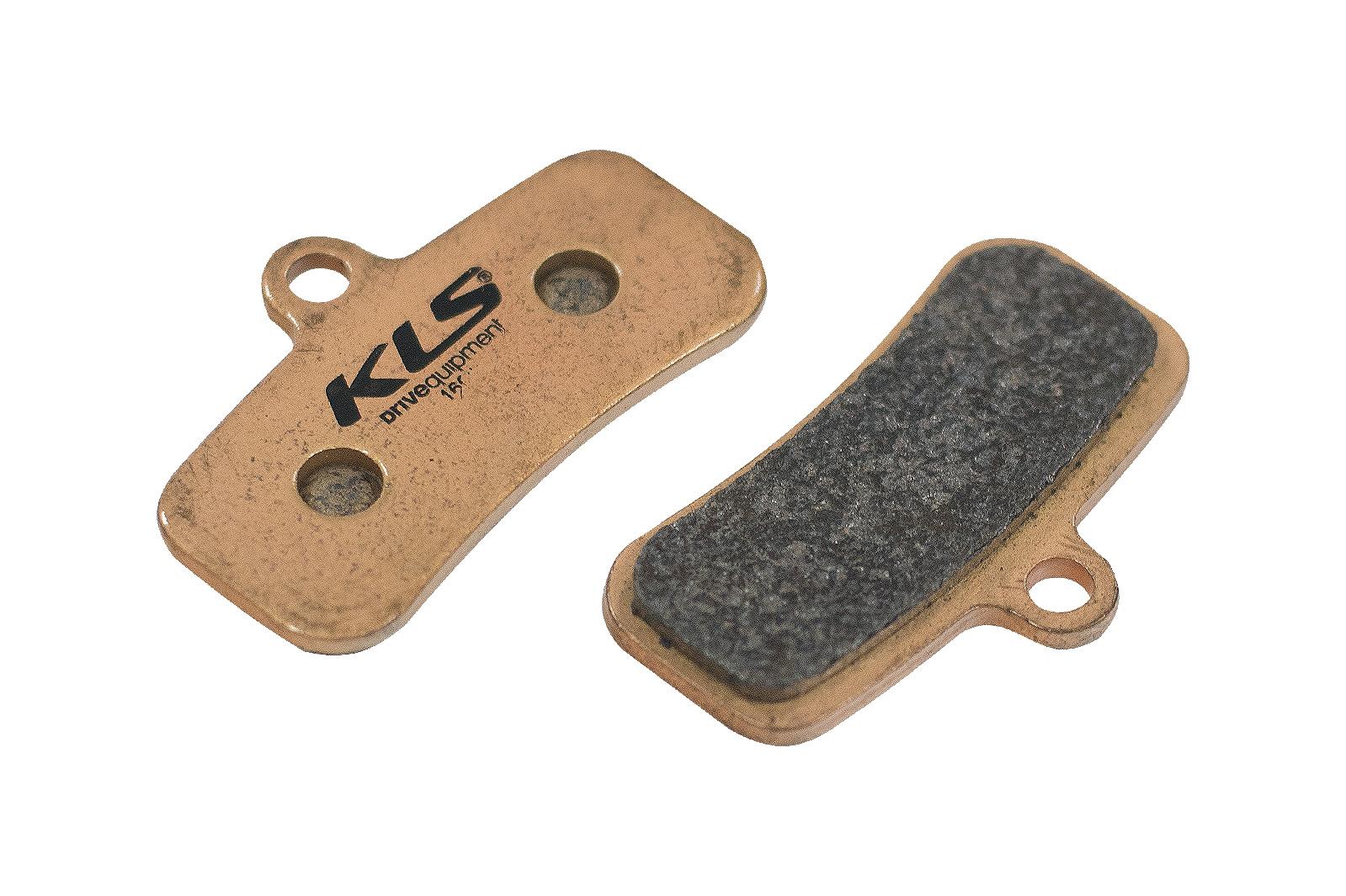 Brzdové destičky KLS D-16S, sintrované (pár)